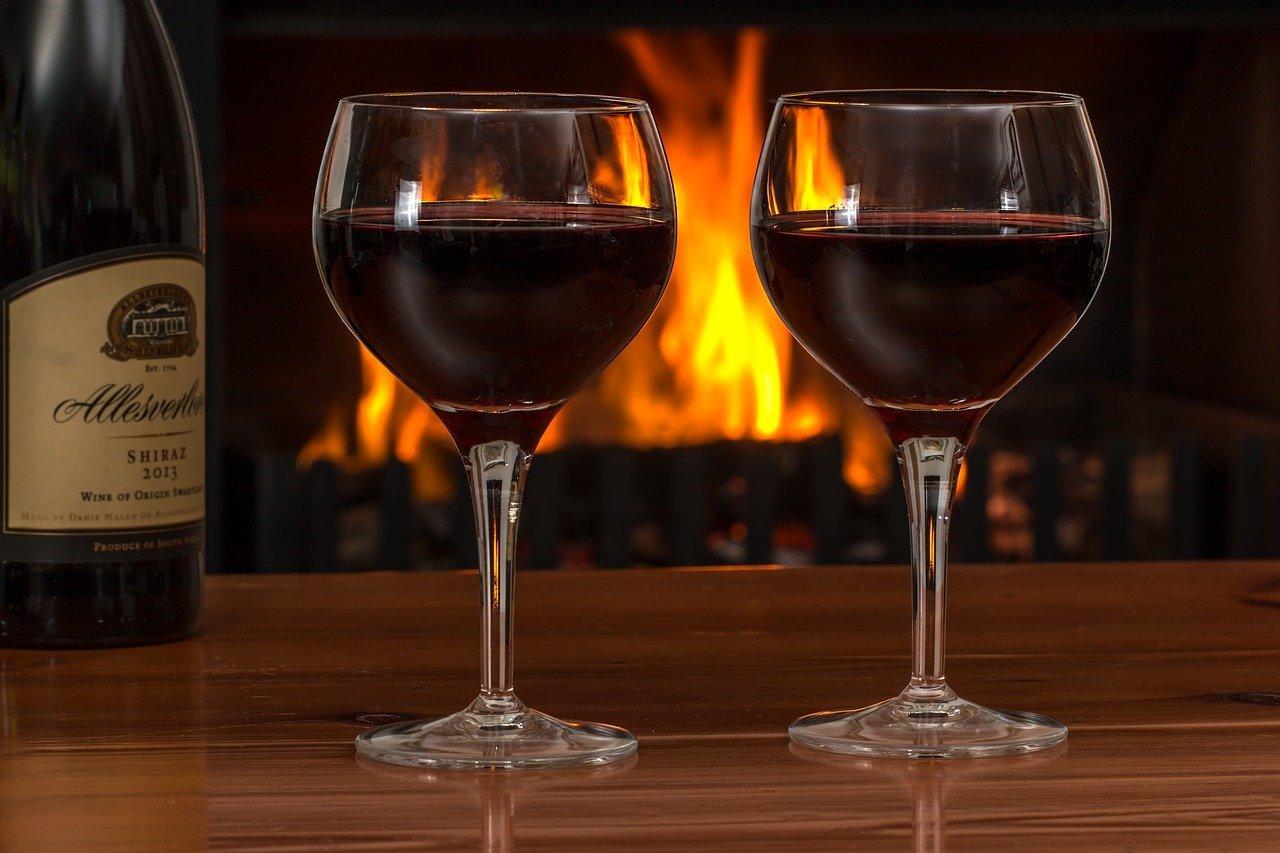 deux verres de vin